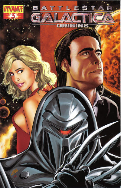 Cover for Battlestar Galactica: Origins (Dynamite Entertainment, 2007 series) #3 [3B]