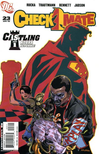 Cover for Checkmate (DC, 2006 series) #23