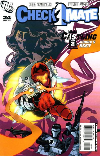 Cover for Checkmate (DC, 2006 series) #24