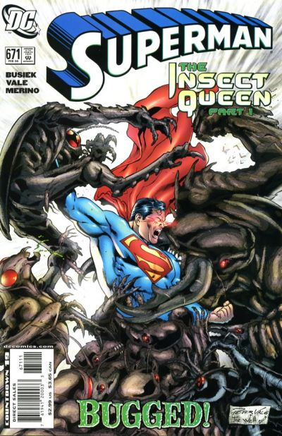 Cover for Superman (DC, 2006 series) #671