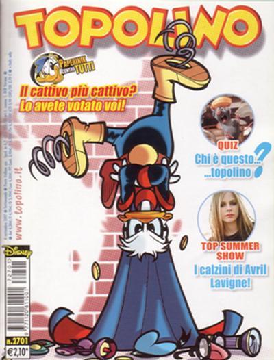 Cover for Topolino (The Walt Disney Company Italia, 1988 series) #2701