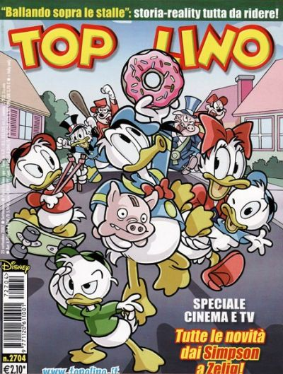 Cover for Topolino (The Walt Disney Company Italia, 1988 series) #2704