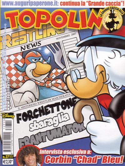 Cover for Topolino (The Walt Disney Company Italia, 1988 series) #2711