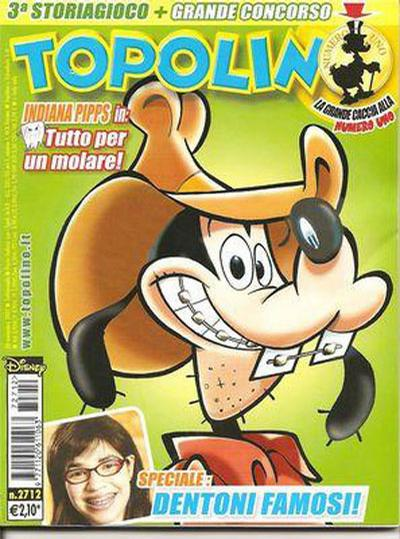 Cover for Topolino (The Walt Disney Company Italia, 1988 series) #2712