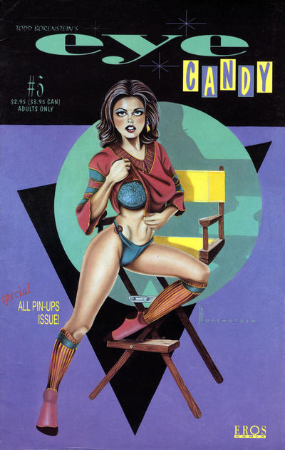 Cover for Eye Candy (Fantagraphics, 1995 series) #5