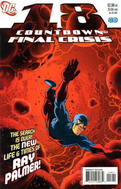 Cover for Countdown (DC, 2007 series) #18