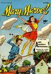 Cover for Mary Marvel (Fawcett, 1945 series) #17