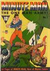 Cover for Minute Man (Fawcett, 1941 series) #1