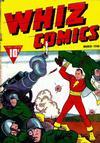 Cover for Whiz Comics (Fawcett, 1940 series) #3