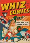 Cover for Whiz Comics (Fawcett, 1940 series) #7