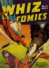 Cover for Whiz Comics (Fawcett, 1940 series) #15