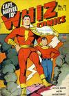Cover for Whiz Comics (Fawcett, 1940 series) #22