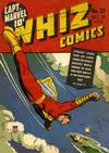 Cover for Whiz Comics (Fawcett, 1940 series) #23