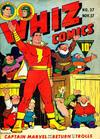 Cover for Whiz Comics (Fawcett, 1940 series) #37