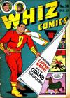 Cover for Whiz Comics (Fawcett, 1940 series) #38