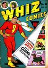 Cover for Whiz Comics (Fawcett, 1940 series) #38