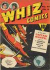 Cover for Whiz Comics (Fawcett, 1940 series) #40