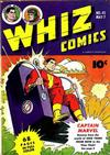 Cover for Whiz Comics (Fawcett, 1940 series) #42