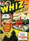 Cover for Whiz Comics (Fawcett, 1940 series) #50