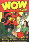 Cover for Wow Comics (Fawcett, 1940 series) #1