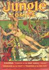 Cover for Jungle Comics (Fiction House, 1940 series) #6