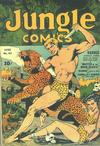 Cover for Jungle Comics (Fiction House, 1940 series) #42