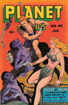 Cover for Planet Comics (Fiction House, 1940 series) #40