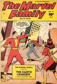 Cover Thumbnail for The Marvel Family (Fawcett, 1945 series) #37