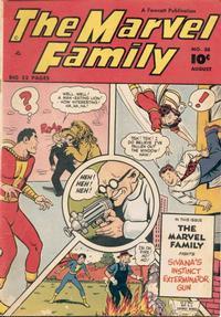 Cover Thumbnail for The Marvel Family (Fawcett, 1945 series) #38