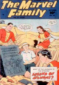 Cover Thumbnail for The Marvel Family (Fawcett, 1945 series) #39
