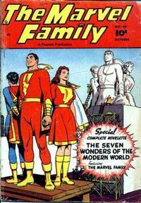 Cover Thumbnail for The Marvel Family (Fawcett, 1945 series) #40