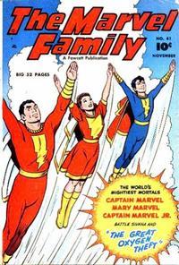 Cover Thumbnail for The Marvel Family (Fawcett, 1945 series) #41