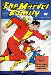 Cover Thumbnail for The Marvel Family (Fawcett, 1945 series) #43