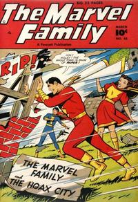 Cover Thumbnail for The Marvel Family (Fawcett, 1945 series) #45