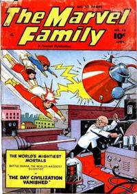 Cover Thumbnail for The Marvel Family (Fawcett, 1945 series) #46