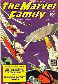 Cover Thumbnail for The Marvel Family (Fawcett, 1945 series) #47