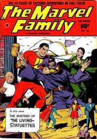 Cover Thumbnail for The Marvel Family (Fawcett, 1945 series) #51