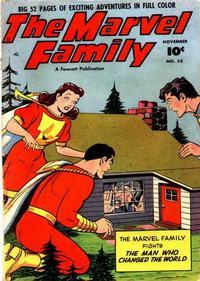 Cover Thumbnail for The Marvel Family (Fawcett, 1945 series) #53