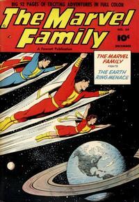 Cover Thumbnail for The Marvel Family (Fawcett, 1945 series) #54