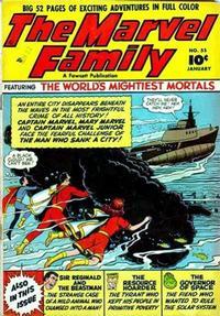 Cover Thumbnail for The Marvel Family (Fawcett, 1945 series) #55