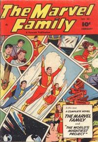 Cover Thumbnail for The Marvel Family (Fawcett, 1945 series) #56