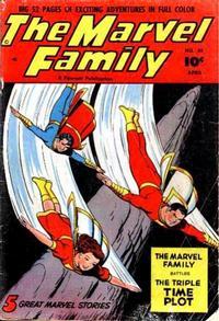 Cover Thumbnail for The Marvel Family (Fawcett, 1945 series) #58