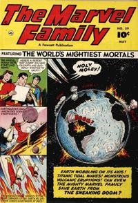 Cover Thumbnail for The Marvel Family (Fawcett, 1945 series) #59