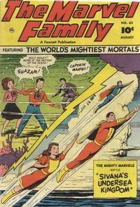 Cover Thumbnail for The Marvel Family (Fawcett, 1945 series) #62