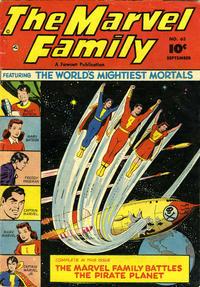 Cover Thumbnail for The Marvel Family (Fawcett, 1945 series) #63