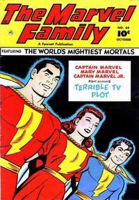 Cover Thumbnail for The Marvel Family (Fawcett, 1945 series) #64