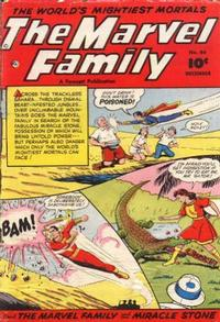 Cover Thumbnail for The Marvel Family (Fawcett, 1945 series) #66