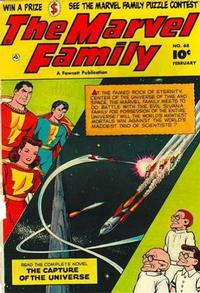 Cover for The Marvel Family (Fawcett, 1945 series) #68