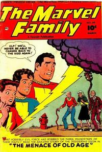 Cover Thumbnail for The Marvel Family (Fawcett, 1945 series) #69