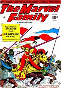 Cover for The Marvel Family (Fawcett, 1945 series) #70